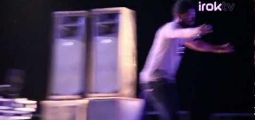 Video: Idris Elba, Basketmouth & Bovi's Rib Cracking Jokes @Koko Concert Lagos.
