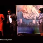 Video: Comedian Koffi Gives out Blackberry at Show