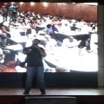 Video: Okey Bakassi performs at AY LIVE