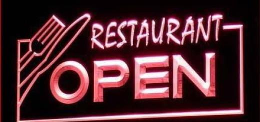 RestaurantOpenSign