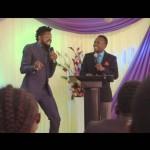 Video: Basketmouth Opens a New Church