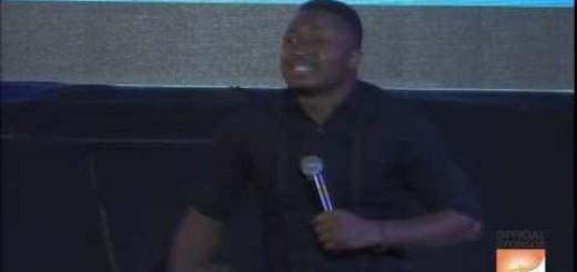 Video: Comedian Funny Bone at AY LIVE Abuja