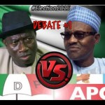 Video: Goodluck Jonathan & General Buhari Presidential Debate 2015