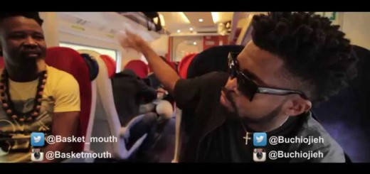 Video: Basketmouth and Buchi Fall Out