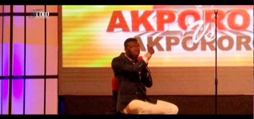 Video (stand up): Akpororo Talks About His Visit to a Mad House With AY