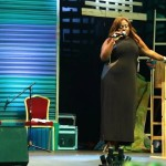 Video (stand-up): Female Comedian Asks Fashola's Wife if She Can Twerk