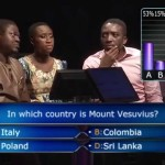 Video: Comedian Bovi Helps Lady Hit N1 Million on Who Wants To Be a Millionaire