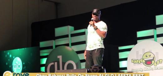Video (stand-up): Okey Bakassi Explains How Women Control Men at Glo Laffta Fest 2015
