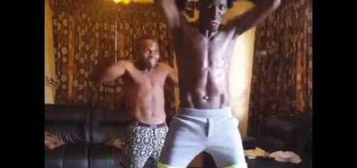 Video: Random Video of Akpororo Dancing, Gyming & Challenging Iyanya at The Same Time