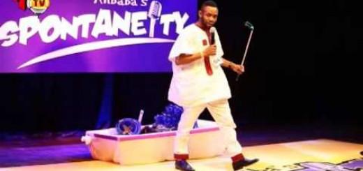 Video (stand-up): Alibaba Spontaneity Show 2015 (Alibaba, Okey bakassi, Laff Up, Gbenga Adeyinka & more)