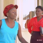 """Video (skit): Kansiime Anne – And You Risk Disconnecting Me? """"my husband is allergic to showering"""""""