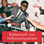 Video: Basketmouth Ruins Hollywood Movie Premiere