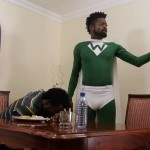 """Video (skit): Basketmouth – Captain Wasteman To The Rescue Again """"are you not a man?"""""""