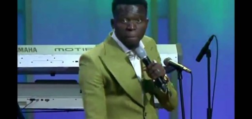 "Video (stand-up): Akpororo Performs in Church ""pastor wife fresh like today bread"""