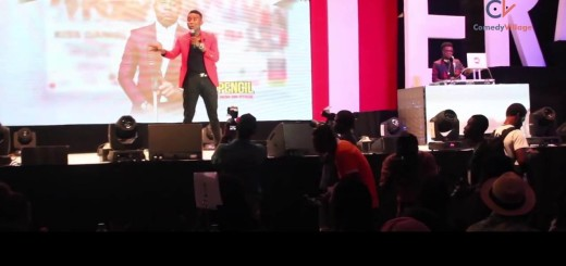 Video (stand-up): Comedian Pencil on Fuel Scarcity Issues at Kiss Daniel Album Launch