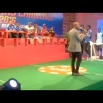 Video (stand-up): Whalemouth Makes Fun of Peter Okoye, 9ice and Orezi While on Stage With Them