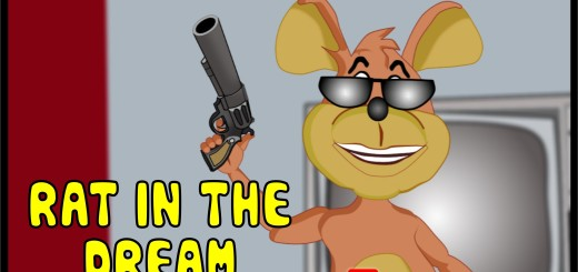 Video (animation): Rat In The Dream (when the rat in your house has had enough)