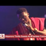 Video (stand-up): Akpororo Makes Fun of Bishop at Fearless Concert 2016