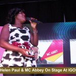 Video (stand-up): Comedian Helen Paul and MC Abbey Perform Together at Igos Live 2016