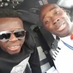 """Video (random): Akpororo Fooling Around with Pilots in the Cockpit """"we are going to Ore straight"""""""