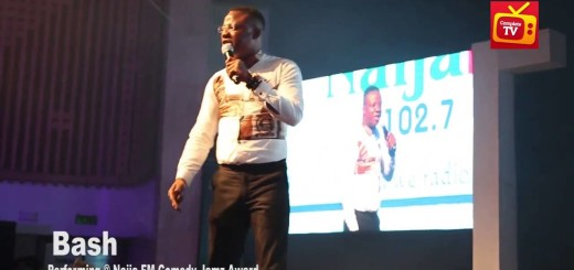 Video (standup): Comedian Bash Has Some Stories to Tell at Naija Comedy Jamz