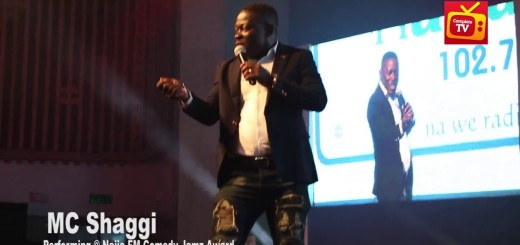 Video (standup): MC Shaggi Makes Fun of Nigerian Police