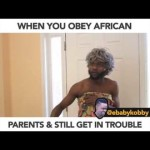 Video (Skit): Ebaby Kobby – When You Obey Your African Parent and Still Get Into Trouble
