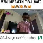 Video (skit): Gbaguan Muncher – When You Mistakenly Fail Waec