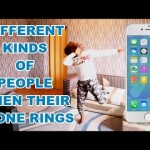 Video (Skit): Samspedy – Different Kinds of People When Their Phone Rings