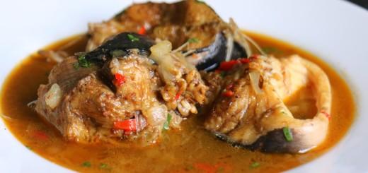 cat fish p soup