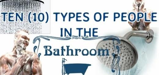 Video (Skit): Samspedy – 10 Types of People in The Bathroom