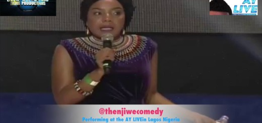 Video (Standup): Thenjiwe Performing Stand up Comedy Live in Nigeria