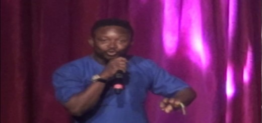Video(Standup): Comedian Sim Card Narrates How he Toasted a Girl in Lagos at 50 Laughter Day