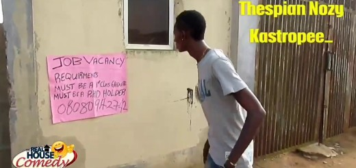 Video (skit): Real House Of Comedy – The Job