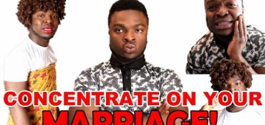 Video (skit): Samspedy – Concentrate On Your Marriage