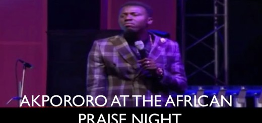 Video (Standup): Akpororo at The African Praise Night