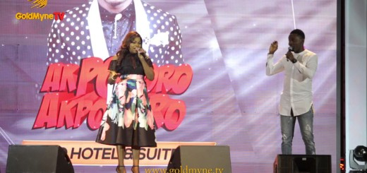 Video (standup): Funke Akindele and AY Crack Up Fans At Akpororo vs Akpororo