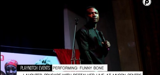 Video (standup): Funny Bone Cracking Ribs At Laughter Crusade With DeStalker