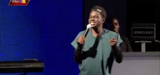 Video (Standup): Kenny Black Performes at Shina Pellers Birthday