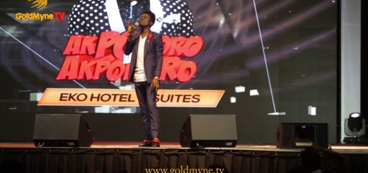 Video (Standup): Kenny Blaq Talks About Diction at Akpororo vs Akpororo 2017
