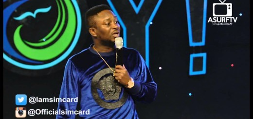 Video (standup): Sim Card – His Yoruba Girl Friend